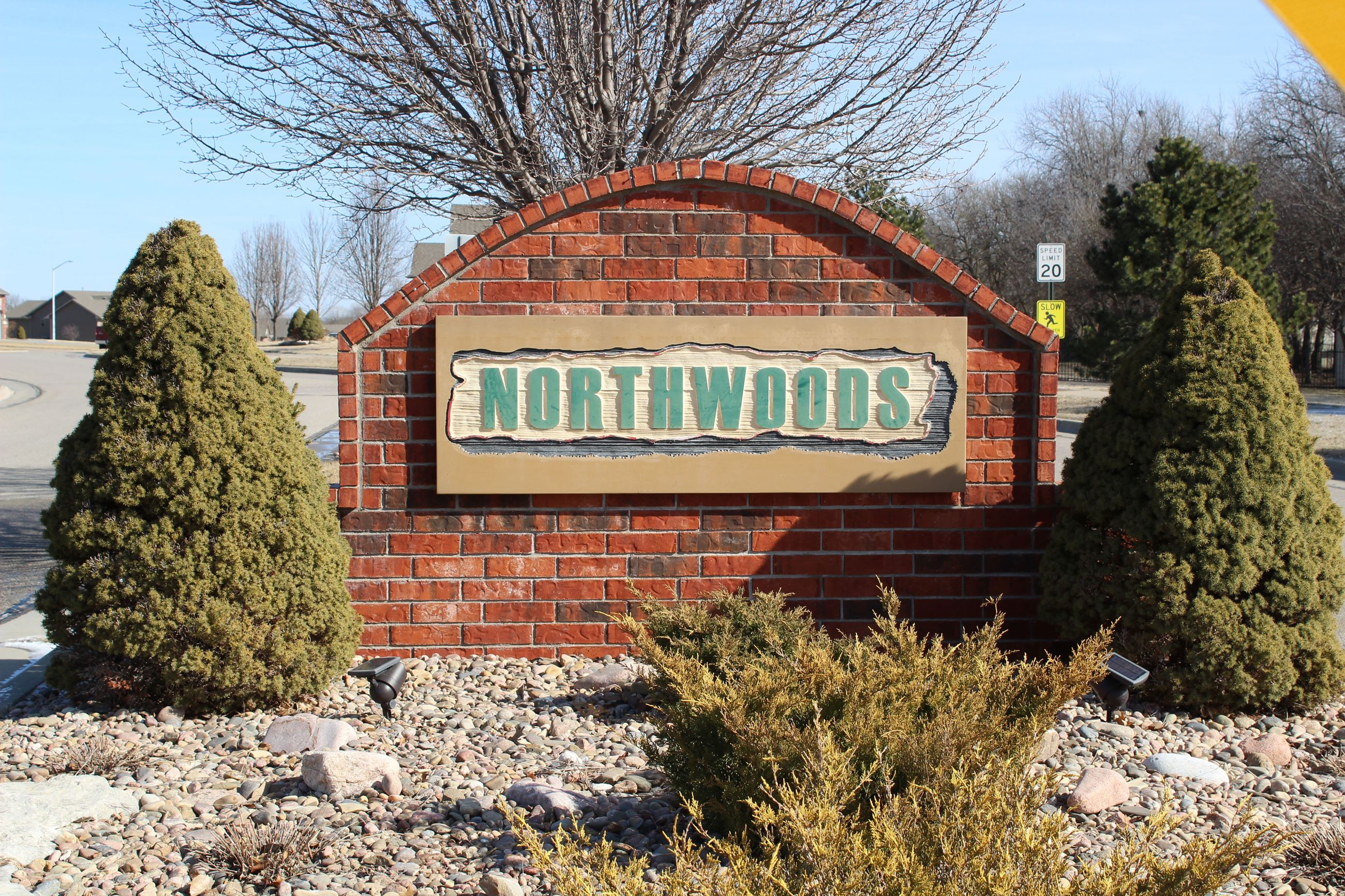 Northwoods Entrance